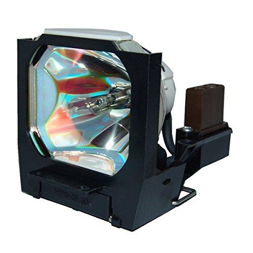 """lutema """"Economia DLP/LCD Replacement Cinema Proiettore per Polaroid VLT-X120LP, colore: nero/grigio"""