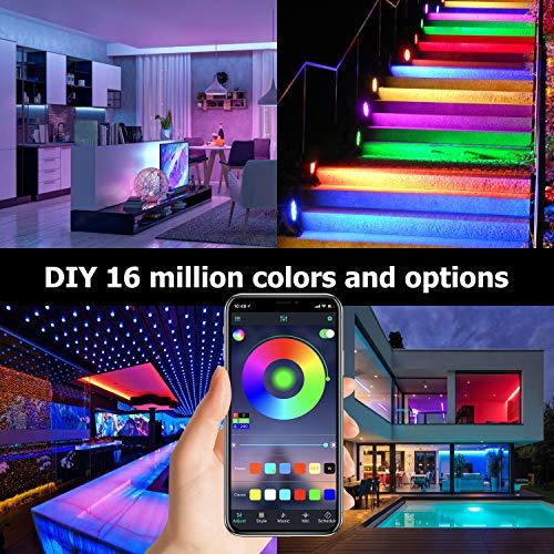 UALAU LED Strip Lights 32.8 Feet 7
