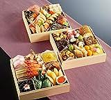 京菜味のむら 冷凍おせち 「華御所」 三段重 40品 12月30日着