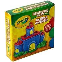 Wholesale CASE of 25–Crayolaサーマルバリアモデリングclay-modeling Clay、NonDrying、4オンスPieces , 4ct、アソートカラー