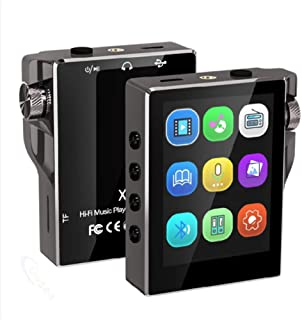 Mp3 Player with Bluetooth, High-Resolution Lossless Digital Audio, 4-Inch LCD Screen, Recording Function, Stable Performan...