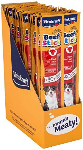 Vitakraft Beef Stick al Manzo Fatto mit mehr als 90% reinem Fleisch