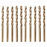 Caja De 10 x 5mm Brocas HSS De Cobalto Oro Para Acero Inoxidable Y Aceros Duros – Juego De Brocas De Metal