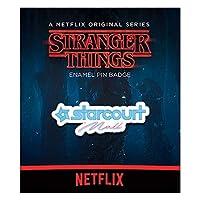 STRANGER THINGS ストレンジャー・シングス (放送5周年) - Starcourt Mall/メタル・ピンバッジ/バッジ 【公式/オフィシャル】