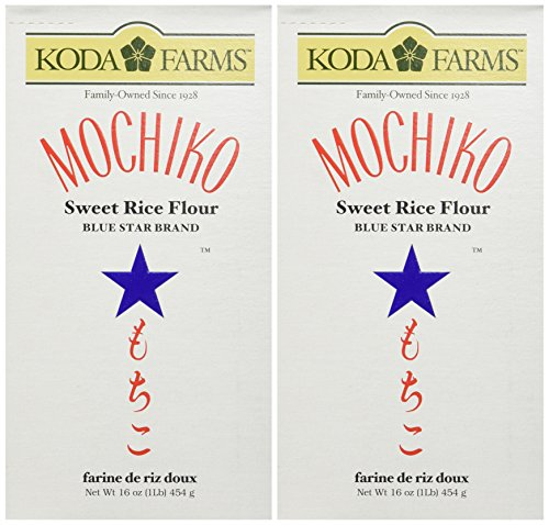 Mochiko Sweet Rice Flour, 16 Ounce, Pack of 2