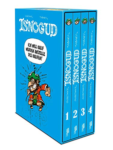 Isnogud - Hardcover-Schuber: Die Goscinny-Jahre | Asterix-Autor René Goscinnys beste Comics in vier edlen Sammelbänden