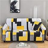 MKQB Funda de sofá elástica con impresión para Sala de Estar,...