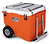 RovR Products, RollR Portable Wheeled Camping Cooler (80 qt.)