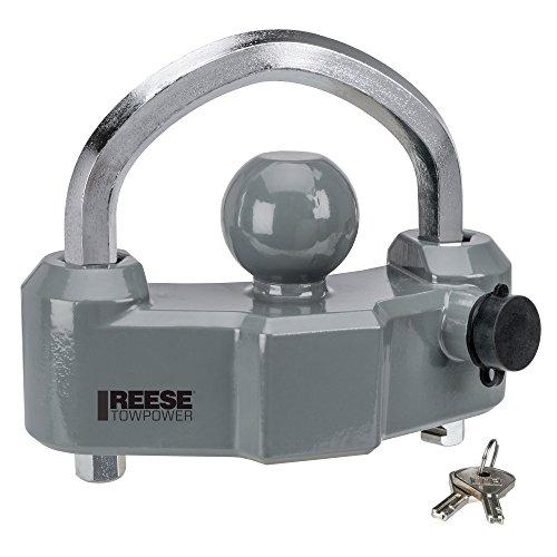 Reese Towpower 7088300 Heavy Duty Coupler Lock, Black