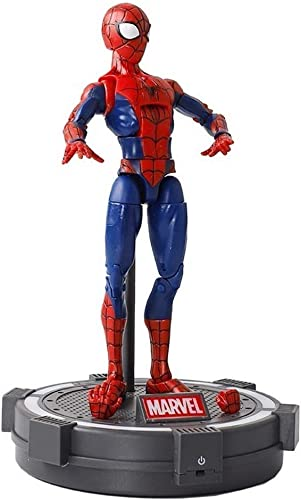 Lfy Avengers Amazing Spider-Man Parallel Universe Kinderspielzeug Joint Movables 19CM