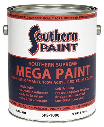 MEGA PAINT High Performance Exterior Coating (Five Gallon)