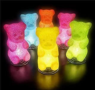 DollarItemDirect 10 inches Sparkle Gummy Bear Lamp, Case of 6