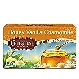 Celestial Seasonings Tea Honey Vanilla Chamomile, 20 ct