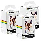 Pellicule instantanée Polaroid PIF300 - Conçue pour être utilisée avec les  appareils photo Fujifilm Instax Mini et PIC 300 (60 feuilles)