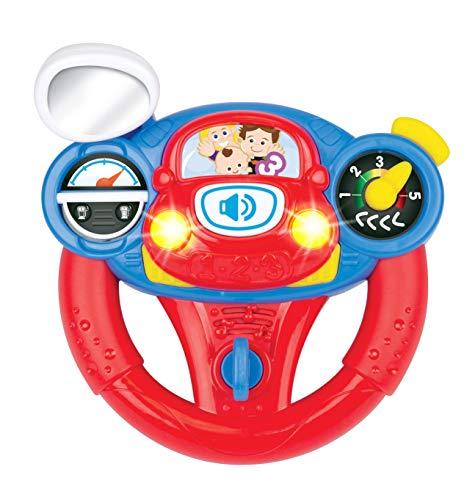 winfun 000684-NL Lenkrad für den kleinen Fahrschüler