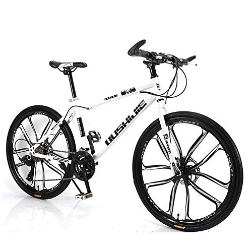 Affordable AHAVINTAGE.COM Hybrid Bike Outdoor Sports Cycling Bicycle Dual Disc Brake (Color : White,...