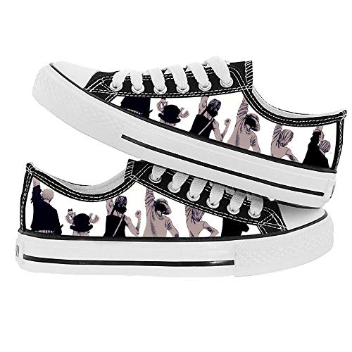 NLJ-lug Onepiece Anime Cosplay Zapatos Zapatillas Zapatos De Lona,41
