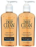 Neutrogena Deep Clean Facial Cleanser, Normal To Oily Skin, 6.7 oz, 2 pk cleanser for oily skins May, 2021