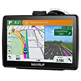 Car GPS Navigation, 7-inch 8GB HD Touch GPS Navigator, Voice Traffic Warning, Driving Alarm, with Sun Visor and Free Lifetime Update map