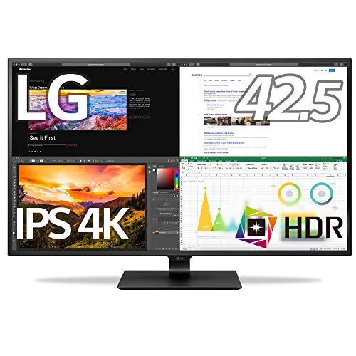 LG モニター ディスプレイ 43UN700-B 42.5インチ/4K/HDR対応/IPS非光沢/HDMI×4,DP,USB Type-C/スピーカー/...