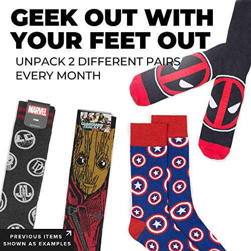 Loot Socks Subscription Box : Monthly
