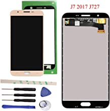 Draxlgon Tested LCD Display Touch Screen Digitizer Assembly for Galaxy J7 Prime 2017 J727 J727U SM-J727T SM-J727T1 J727R4 J727V J727P Sky Pro SM-J727A SM-J727VL J7 2017 Perx J727PZKASPR 5.5