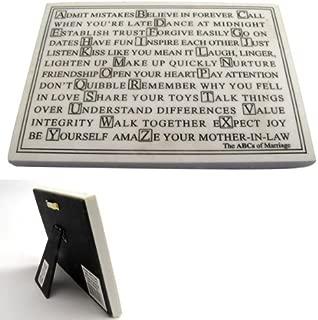 Best alphabet life plaque Reviews