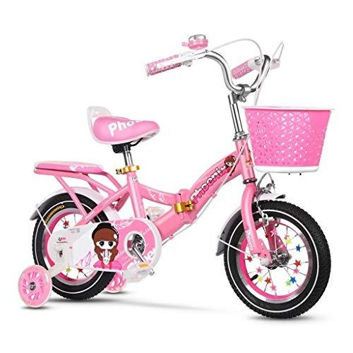 Rueda de Bicicleta de Entrenamiento silencioso 2-3-4-6-7-8 Años de Edad de Bicicletas Niño Niña Bicicleta Plegable con los niños