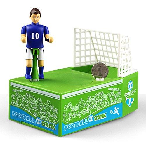 Faironly KAD079185 - Hucha con diseño de Cerdito de fútbol eléctrico