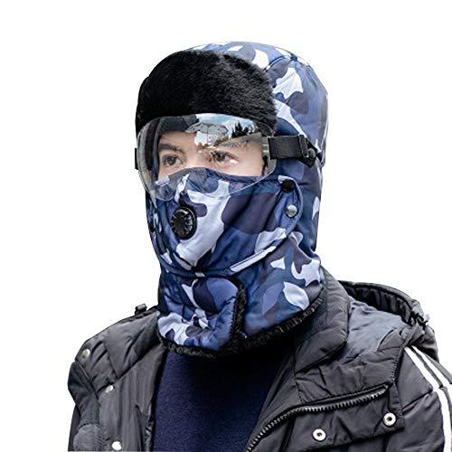 Warmwin Outdoor Radfahren Winter warme Mütze,Winter tägliche Tarnkappe,Bomberhüte,Kindermode lässig-BU_United_eine Größe für jemanden geeignet
