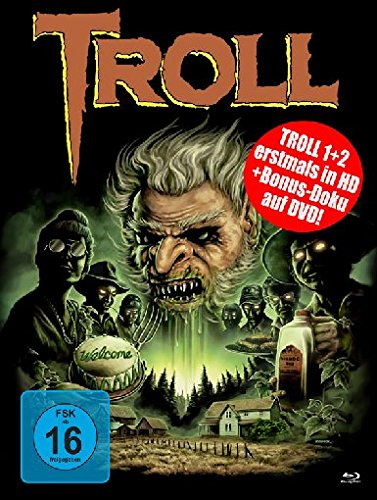 Troll 1+2 - Uncut/Mediabook (+ Bonus-DVD) [Blu-ray] [Limited Collector's Edition]