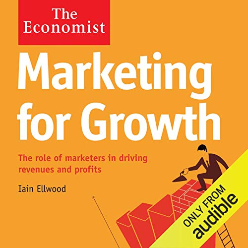 Marketing for Growth audiobook cover art