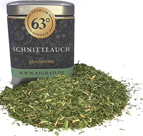 63 Grad - Premium Schnittlauch - getrocknet & geschnitten (25g)