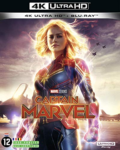 4K Captain Marvel +2D