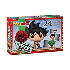 Count down the holidays with this Dragon Ball Z Christmas Advent calendar, from Funko! Each figure inside is a different pocket Pop! version of all your favorite Dragon Ball Z characters! Which character will you receive from this 24 day Dragon Ball ...