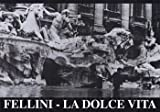 La Dolce Vita Movie Poster (43,18 x 27,94 cm)