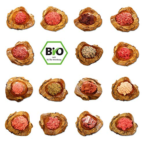 Frostfutter Perleberg Barf Hundefutter 15kg Bio-Komplett-Paket für Hunde
