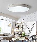 Luces de Techo LED Redondas Modernas Lámparas de techo de Montaje Empotrado Lampara de Techo Iluminación interior Minimalista 15W Blanco Regulable