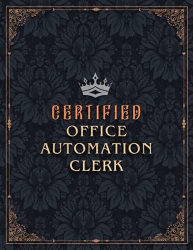 Compare Textbook Prices for Office Automation Clerk Lined Notebook - Certified Office Automation Clerk Job Title Working Cover Daily Journal: Small Business, Over 100 Pages, Work ... 21.59 x 27.94 cm, A4, Goals, 8.5 x 11 inch  ISBN 9798524896216 by Portillo, Momina