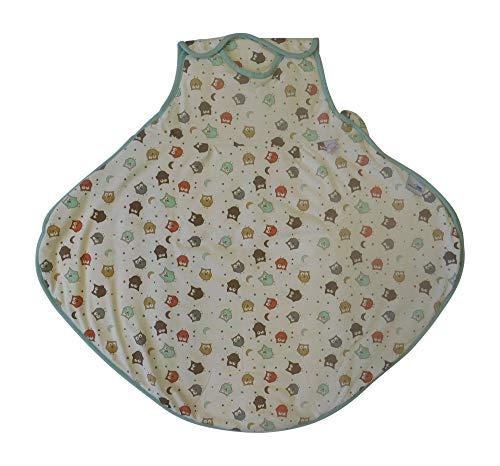 Schlummersack Sommer Babyschlafsack Eule 1.0 Tog für Babys mit Hüftdysplasie Größe 70 cm / 6-18 Monate