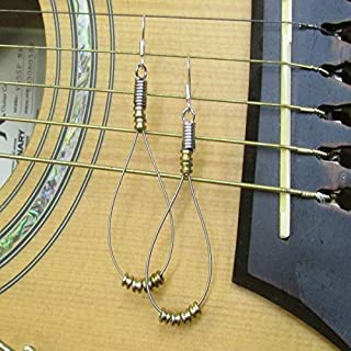 recycled guitar string jewelry