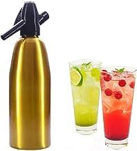 Professionnel Alliage Soda Siphon Maker Eau, 1 Litre Soda Siphon Bouteille Avec Régulateur De Pression Pour Le Jus Drinks ...