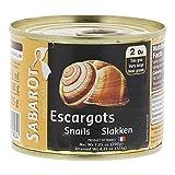 Sabarot Caracoles Helix Escargot 2dz (200g)