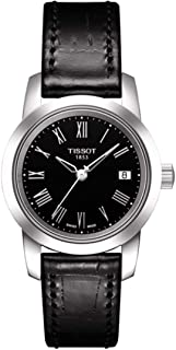 Tissot Casual Watch For Women Analog Leather -