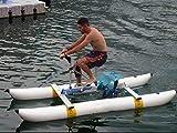 QQ HAO Bicicletas Inflables De Agua De Kayak, Deportes Acuáticos Touring Kayaks Pedal De Mar Barcos De Bicicleta