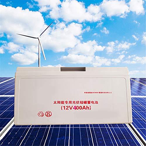 Batería de alta potencia de plomo de carbono ups 12V 100ah 200ah 300ah 400ah batería recargable del sistema de energía solar (12V 400ah ×1pcs)
