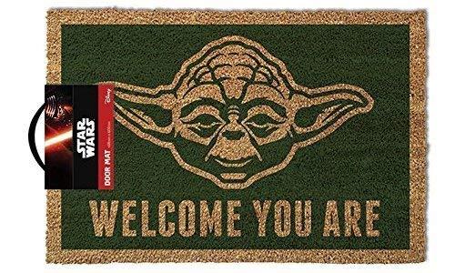 Pyramid International Star Wars Yoda Door Mat 0, Felpa, 40 x 60 cm