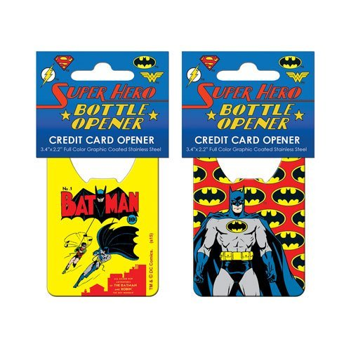 Adventure Trading Décapsuleur pour carte de crédit Batman Pop Art