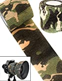 Outdoor Saxx Camouflage Tape Tissu Bande de Camouflage Imperméable Multi-Usages...