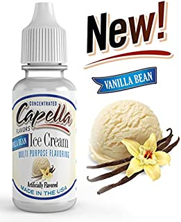 Capella Flavor Drops Vanilla Bean Ice Cream Concentrate 13ml